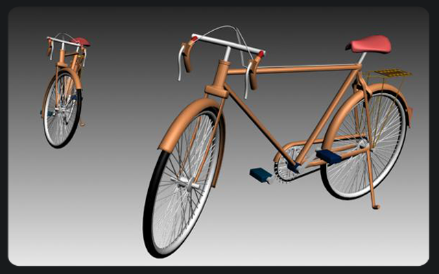 3-D bicycle Desing model